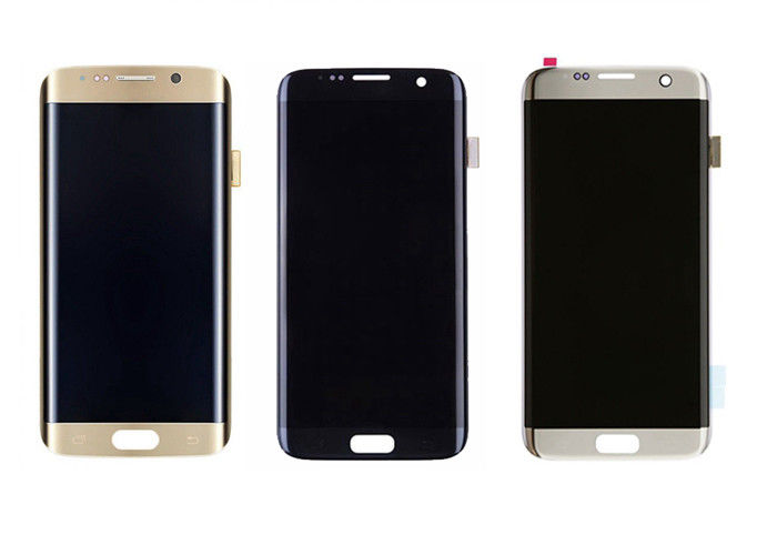 Samsung Galaxy S7 Edge Screen Digitizer Assembly , Samsung Cell Phone Parts