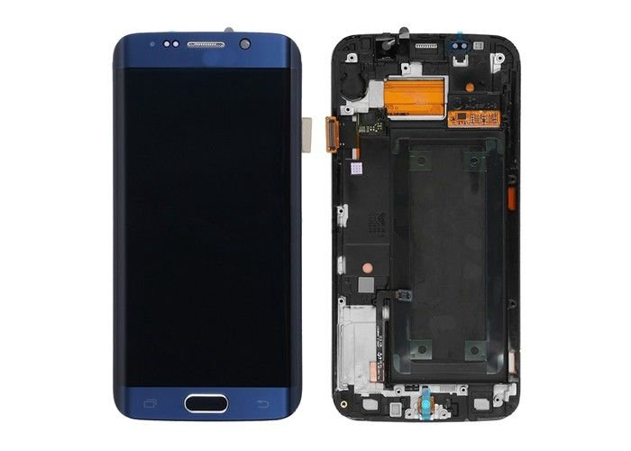 5.1 Inch Samsung Phone LCD Screen 2560x1440 Resolution For Samsung Galaxy S6 Edge G925A